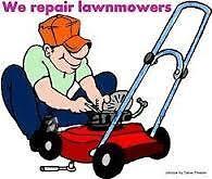 lawnmower repair and any household repair