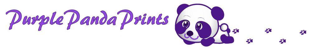 Purple Panda Prints
