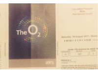 2 Bros concert tickets to sell out show at London O2 Arena Sat 19th August
