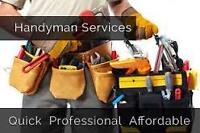 Affordable Handyman Services ( Basement - kitchen - bathroom )