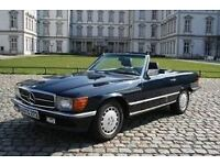 Currently breaking Mercedes-Benz SL280 W107