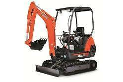 $220 per/day  NEW 1.7T KUBOTA  EXCAVATOR