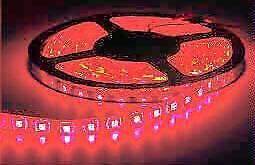 5m WATERPROOF Red Strip Light - New Stocks