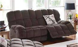 WTB. Hustler 2.5 seater recliner sofa in brown Gosnells Gosnells Area Preview