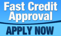 Guaranteed Credit Approval..Apply Online Now or 1-877-834-5589