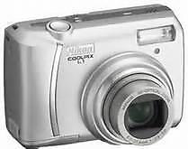 Mint Nikon coolpix l1,6.2MP Digital Camera,3X,AF,Silver,warr