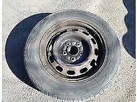 Mazda Bongo Full Size Steel Wheel Not Space Saver