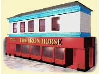 Staff wanted for the Iron Horse Bar
