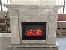 Solid marble fire surround - no fire
