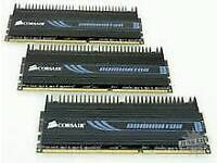 3 x 1gb Corsair Dominator DDR2 ram sticks