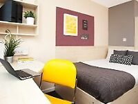 AVAILABLE NOW replacement tenant needed ASAP for en suite room in student flat in The Plaza Leeds