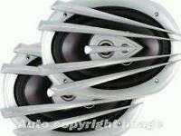 Mutant 6 x 9 300w speakers