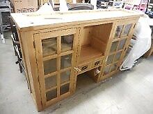 Vancouver Oak Dresser Top/ Hutch
