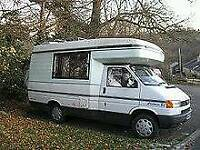 Motorhome and caravans wanted
