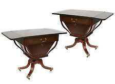 Duncan Phyfe Drop Leaf Tables
