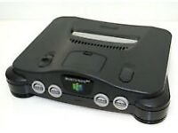 Nintendo 64 with Leads and 1 Game