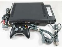 XBOX360 CONSOLE COMES WITH 1 CONTROLLER / LOADS OF EXTRAS / FOR SALE OR SWAPS