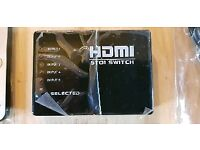 HDMi Splitter 5 way with Remote
