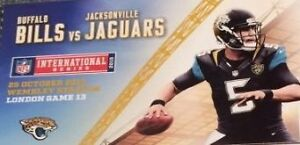 Sale:Jacksonville Jaguars vs Buffalo Bills Sunday Nov. 27th 2016