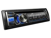 JVC KD-R741BT Bluetooth Car Stereo with Front USB/AUX Input for iPod and iPhone