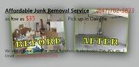 It's the junk removal guys...from $0