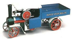 VINTAGE MAMOD SW1 S.W.1 LIVE STEAM WAGON ENGINE WORKING AND VERY GOOD CONDITION with original box