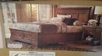 BRAND NEW unopened wooden king sized storage bed