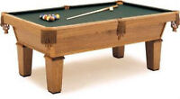 USED SLATE POOL TABLES * ANY CONDITION * WE  CASH for certain on