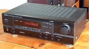 DENON am/fm Receiver with a  turntable & speakers London Ontario image 2