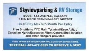 LONG TERM CAR PARKING CLOSE TO CALGARY AIRPORT