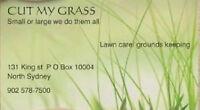 CUT MY GRASS