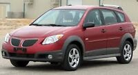 2003 pontiac vibe needs transmission 5 speed parting out or sell