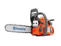"Husqvarna 445 18"" chainsaw"