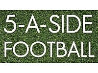Wanted! 5 a-side players for friendly games every Monday 7pm North London, Muswell Hill