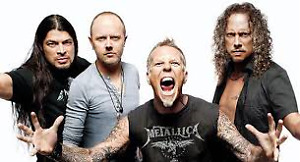 2 TICKETS TO METALLICA JULY 16 IN TORONTO