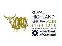 2x Tickets for Highland Show