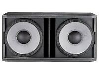 JBL SRX728S SRX 728 Dual Double ; Subwoofers Speakers 1600w each