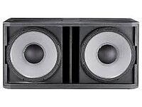 JBL SRX728S SRX 728 Dual Double ; Subwoofers Speakers 1600w each