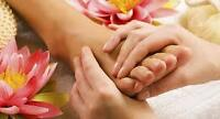 10+ years psw: offering foot and hand massage