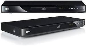 lg blue ray player and dvd,s