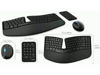 Microsoft sculp ergonomic keyboard and mouse desktop set