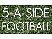Wanted! Players for friendly 5 a-side football in North London (Muswell Hill)