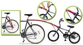 Trail Gator For kids bike. (USED) image for illustration only