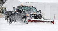 snow plowing and snow  removal