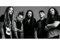 Korn and limp bizkit x2-tickets Cardiff Arena