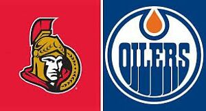 OILERS VS SENATORS OCTOBER 30 - 2 TICKETS 4 SALE