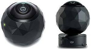 BNIB 360fly Panoramic 360° HD Sports Camera & FlyView VR headset