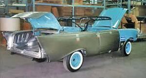 Wanted 1955-57 Chev / Belair /Pontiac Convertible - Rear Section