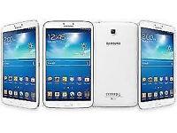Refurbished Samsung Galaxy Tab 3 SM-T310 Tablet 8 Inch Display 16GB White 6 Months Warranty