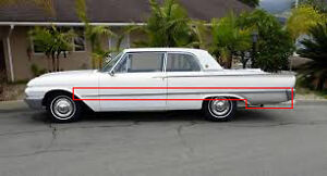 WANTED CHROME FOR 1961 GALAXIE